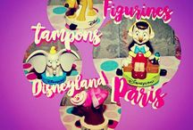 FIGURINES TAMPONS DISNEYLAND PARIS. (my collect') / ©LauryRow. / https://www.facebook.com/pg/Disneycollecbell%20/photos/?tab=album&album_id=1083544718393884