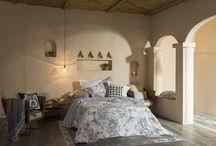 """Colección Dormitorio """"Moroco"""" Primavera/Verano 2017 / La Mallorquina presenta para esta temporada Primavera/Verano 2017 la colección Moroco. Exotismo mediterráneo. Para el dormitorio tonos y estampados inspirados en los detalles de la arquitectura árabe."""