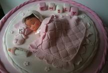 Fondant Baby - Christening Cakes