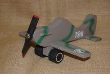 Wooden Plane Toys