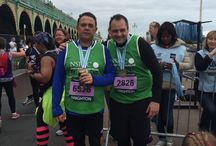 WE DID IT! / We completed the brighton marathon! A whole 26 miles....