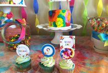 Tie Dye PARTY / fiesta | party