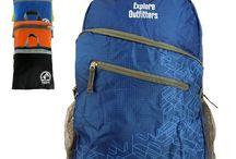 Nylon Packable Backpacks / Genuine Nylon 35 Liter Packable Backpacks | Portable Foldable Ultra Lightweight  Daypack For Travel, Outdoors, Hiking, Camping