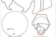 tutorial boneka flanel