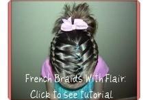 Little Girl Hair  / Hair do's for my little girls.