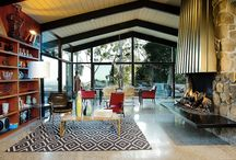 mid century decor/homes / by Nancy Mathis