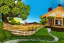 Book Illustrations / These are illustrations from the Wizzy GIzmo Kids Bible book series