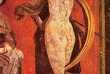 Art  •  Roman frescoes