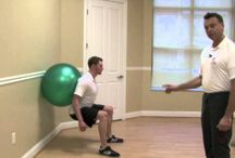 Exercises you will feel the burn / Various exercise we have our clients do.