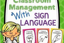 Sign Language in the classroom
