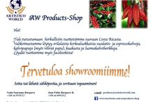 AW Products Shop News / A variety of high quality products from Costa Rica.  Please, contact us or visit our Online-Shop for your order! products@artisticoworld.com www.artisticoworld.com/aw-products-shop