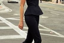 black only / simple elegant and casual style