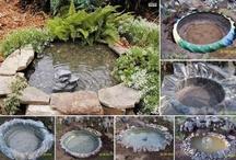 fuentes para el jardin