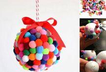 Boule pompons