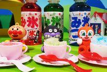 アンパンマンおもちゃアニメ❤夏はやっぱりアンパンマンかき氷! Anpanman toys