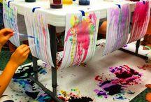 Eğlenceli boya etkinlikleri