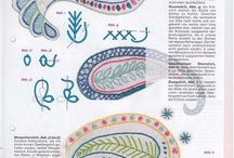 Crewelwork, - techniques and know how information