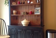 Country charm hutch / Country charm hutch