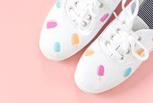 Nyári diy cipők