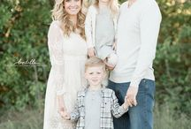 Family Portrait / Timeless look, inspiration and ideas examples.