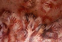 prehistoric art - kalliomaalauksia yms