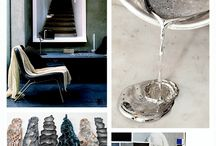 Eclectic Trends - Feeling Blue / Beautiful #blue #interior #design images from a blog post featuring #eclectictrends