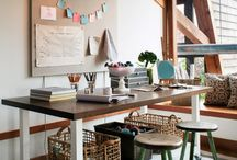 Cozy Workspaces / beautiful offices and craft rooms. / by Vicki Shininger