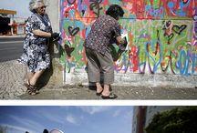 Straßen Kunst