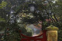 Portails, entrées et fenêtres magiques