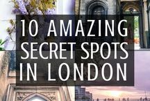 Secret places in London