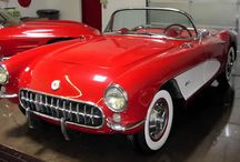 1951 to 1960 CARZ / Cars and pickups of this era--lots of chrome, big fenders, and great design. / by Carz Inspection