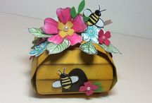 Curvy keepsake and other boxes / Small gift boxes