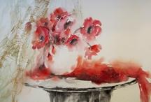 Akvareller Watorcolouer