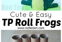 Paper  roll crafts and activities