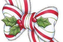 Weihnachtlich motive