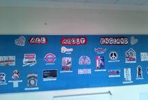 english fest bulletin board