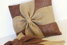 How to make bow cushion cover