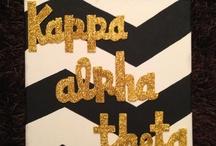 Kappa Alpha Theta  / by Briana Shelton