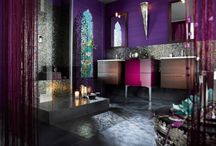 Middle East & Indian / We have always loved the sumptuous colors and curves of the exotic interiors from this part of the world.  / by Orions Objects