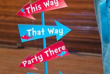 Dr. Seuss Thing 1 and Thing 2 birthday party ideas