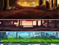 art backgrounds mobile games