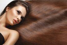 Vlasy / Krásné účesy, péče o vlasy a jejich úprava. Luxusní vlasová péče.