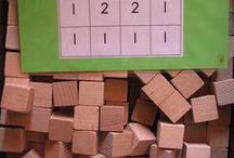 Wiskunde - blokkenbouwsels/patronen