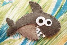 Рыбки из фетра