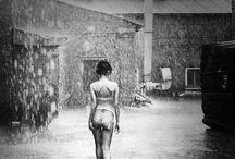 Lingerie in the rain (shoot idea)