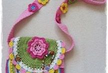 crochet kid's purse