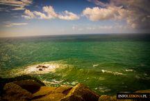Cabo da Roca w Sintrze / Słynny koniec Europy - przylądek Cabo da Roca w Sintrze. Zobacz zdjęcia i dowiedz się, jak dojechać, na co uważać i dlaczego miejsce jest takie wyjątkowe? http://infolizbona.pl/przyladek-cabo-da-roca-w-portugalii-koniec-europy-zdjecia-wideo/ #Portugalia #Sintra