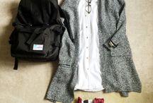 好みの服。
