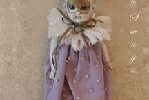 Antigue doll