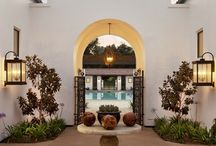 Courtyards / I love enjoying the outdoors in the privacy of your own home.